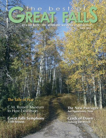 The Best of Great Falls Fall 2013 - The Best of Great Falls Magazine