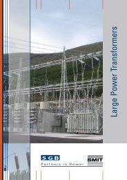 Large power transformers (2.7 MB, PDF) - SMIT Transformers