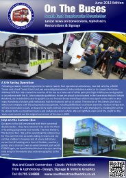 Newsletter June 2012 - South East Coachworks