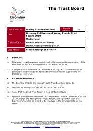 Trust Forum 2010.pdf - Bromley Partnerships