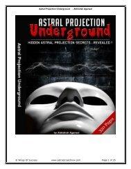 Astral Projection Underground - Abhishek ... - Above Top Secret