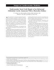 Endovascular Stent Graft Repair of an Infrarenal Abdominal Aortic ...