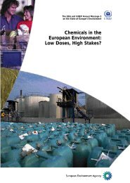 Low Doses, High Stakes? - European Environment Agency