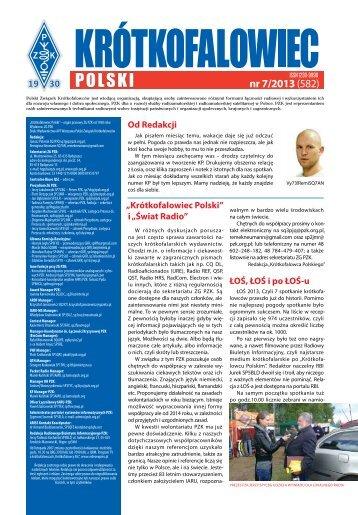 Krótkofalowiec Polski 07/2013 - Świat Radio
