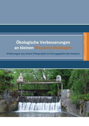 Wasserkraft - Lebendiger Neckar