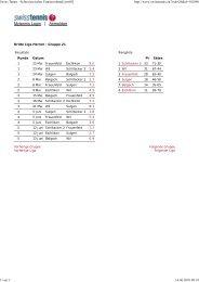 3L Herren - beim Tennisclub Frauenfeld