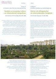 Gardens as everyday culture – an international ... - Planet Diversity