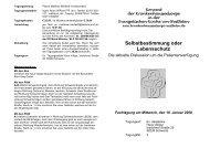 Download Flyer - Evangelische Krankenhausseelsorge in Westfalen