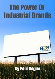 To download the full book (in pdf format) - B2B International