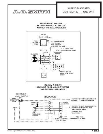 za 0322 wiring diagram for escon desk unit (with analog telephone) GE Water Heater Wiring Diagram ao smith water heater wiring diagram