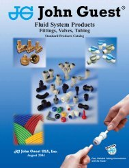 John Guest Fluid Products Catalog - Chester Paul Company