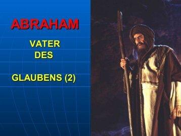 Der bisherige Weg Abrahams - Bibelgemeinde-Bremen