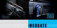 WEBGATE Catalog 2012-2013