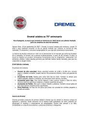 Dremel celebra su 75° aniversario - Bosch