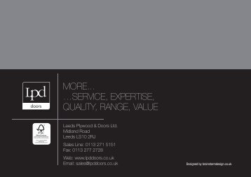 more... …service, expertise, quality, range, value - Howarth Timber