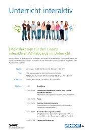 Unterricht interaktiv - MINHOFF GmbH