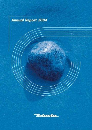 Annual Report 2004 - Teleste
