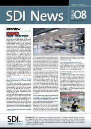 SDI News, Issue 08 - October 2012 - SDI Group