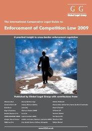 Enforcement of Competition Law 2009 - Morais Leitão, Galvão Teles ...