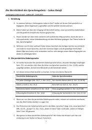 Konzept (PDF) - Haus des Gebets – St. Georgen