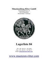 11.1 antike objekte - Münzhandlung Ritter GmbH