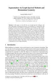 Segmentation via Graph-Spectral Methods and Riemannian Geometry