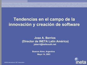 Lo que INETA no es - Microsoft