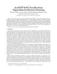 An SMP Soft Classification Algorithm for Remote Sensing