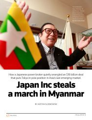 Japan Inc steals a march in Myanmar - Thomson Reuters