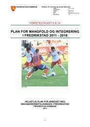 MIF planen - Fredrikstad kommune