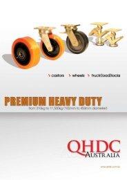 premium heavy duty castors download our catalogue - Industrial ...
