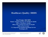Healthcare Quality: DHHS - Cleveland Clinic Center for Continuing ...