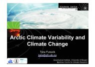 Arctic Climate Variability and Climate Change