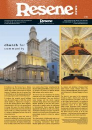 Resene newsletter about Resene products as used in various ...