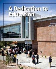 A Dedication to Education - Embry-Riddle Aeronautical University ...