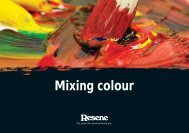 Mixing colour - Resene