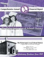 2012 CAFR - Pickerington Local School District