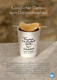 Schokoladen-fondue - MARKET GROUNDS