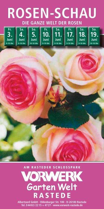 Die ganze Welt der Rosen - Vorwerk Rastede