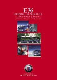 ORIGINAL ALPINA TEILE - KLINIKA BMW
