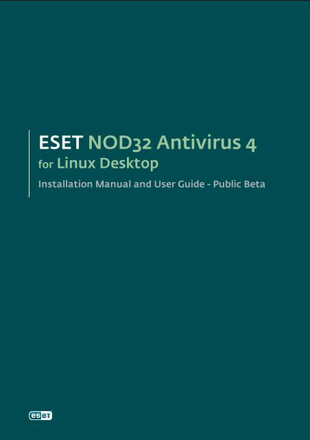 <html> <head> <title>ESET NOD32 Antivirus for ...