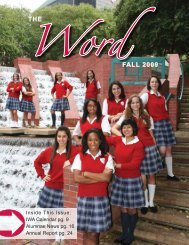 THE WordFALL 2009 - Incarnate Word Academy