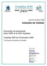 dossier de presse - Inpi