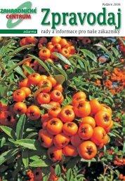 Podzim - Zahradnictví Chládek