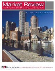 Metro Boston Real Estate Market Review | 1st ... - NAI Hunneman