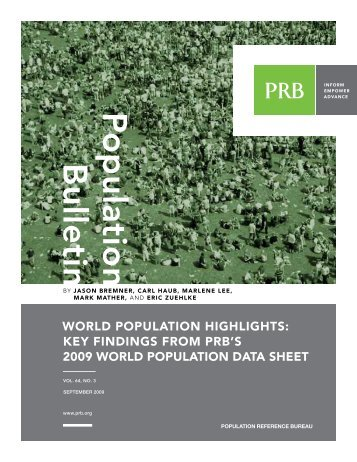 World Population Highlights: Key Findings From PRB's 2009 World ...