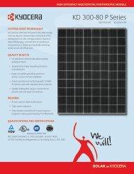 ModulE - KYOCERA Solar
