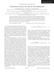 Nonlinear dispersive regime of cavity QED: The dressed dephasing ...