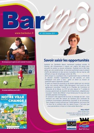 Savoir saisir les opportunités - Bar-le-Duc