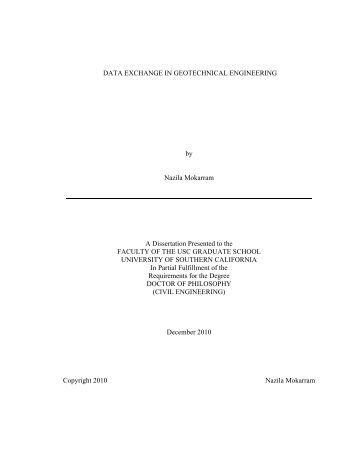 Dissertation   USC   University of Southern California Yumpu